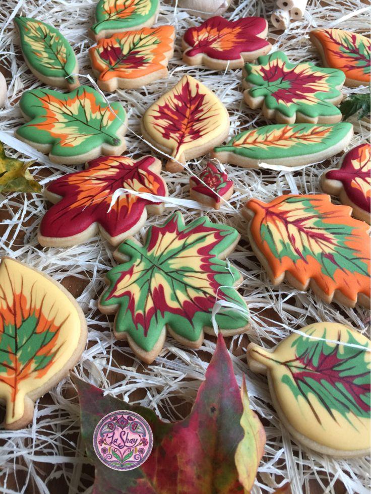 Best 25 Leaf Cookies Ideas On Pinterest Halloween Sugar