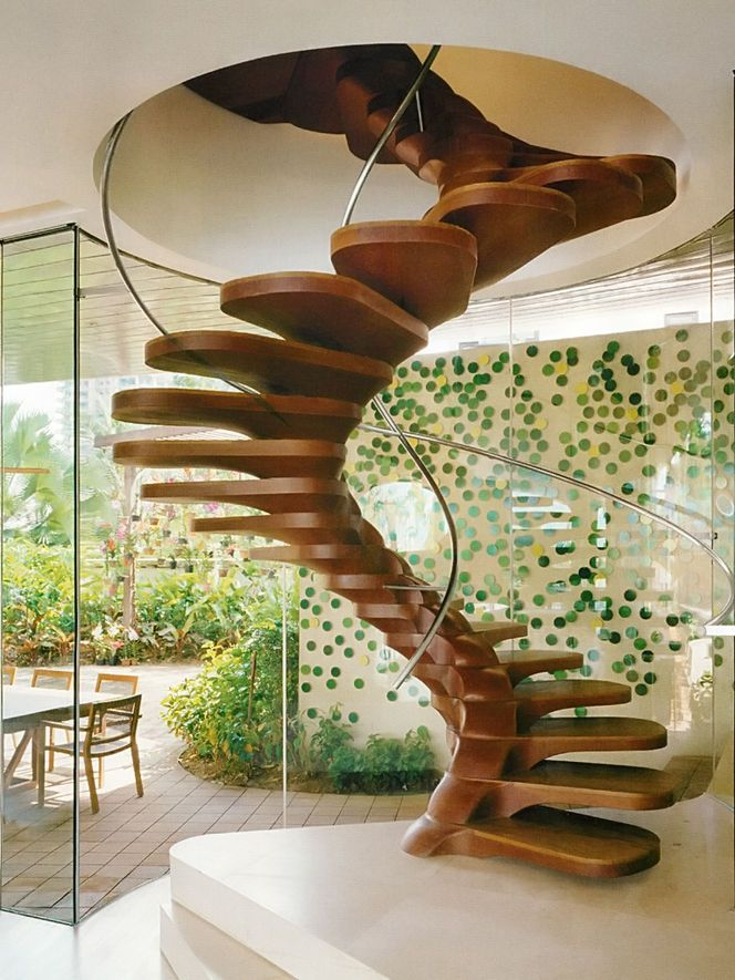 Modern Wood Stairs