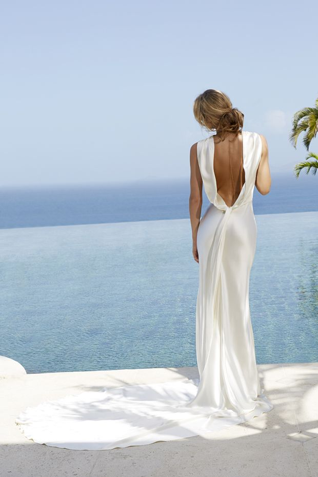 Amanda Wakeley Ianthe Wedding Dress From The Sposa Mustique Collection | www.onefabday.com