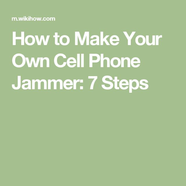 how to make your own phone