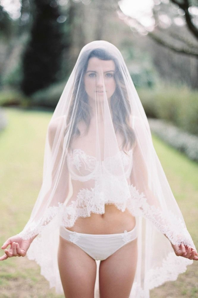 Girlwithaseriousdream Marie Ethereal Silk Tulle and French lace veil   Image by Lauren Kinsey   grecian wedding greek inspired veil