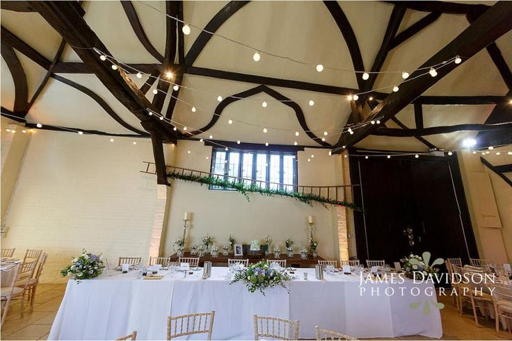 Nether Winchendon House photography by James Davidson. Lighting by Oakwood Events Ltd
