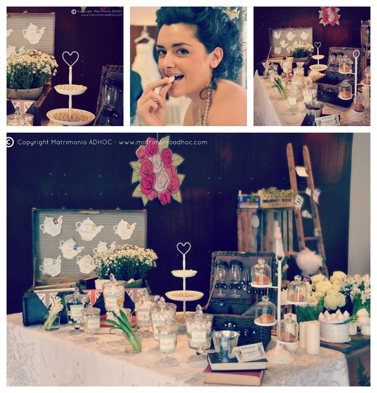 Confettata Matrimonio ADHOC in stile Old England! http://zuccheroepeonie.blogspot.it/2013/02/wedding-day.html