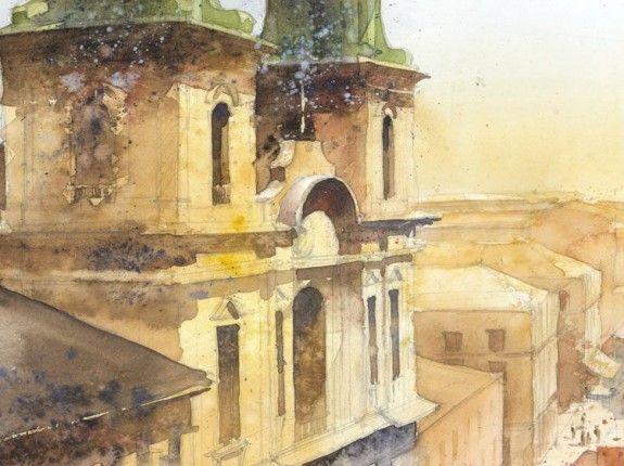 The Whimsical Watercolors of Tytus Brzozowski |