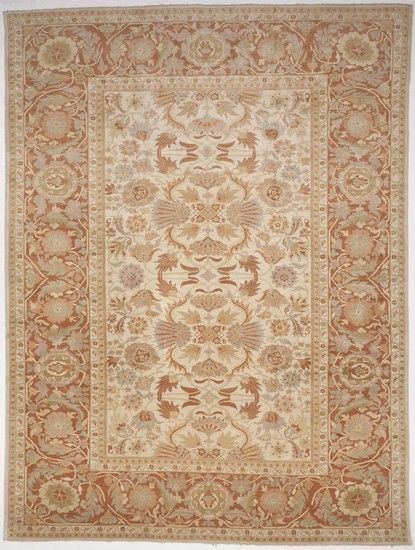 """Hand-Knotted Egyptian Palatial Rug (14'6""""x 19') Treniq Rugs. View thousands of luxury interior products on www.treniq.com"""