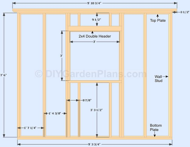 Framing A Window In A Shed Google Search Modern Shed