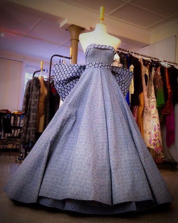 Dior Inspired Dress Made With Izishweshwe Fabrics For The