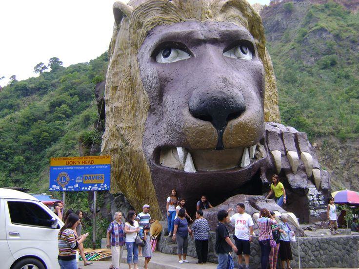 Lion's Head Bagiuo City Philippines