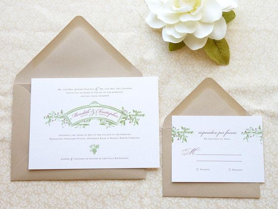 Tuscan Themed Wedding Invitations: 183 Best TUSCAN-INSPIRED WEDDING Images On Pinterest