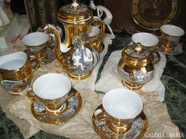 Endre Szász work - Hollóháza porcelain - Hungary