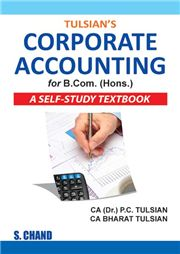 Corporate Accounting Bcom Self Study Textbook (Paper Back)