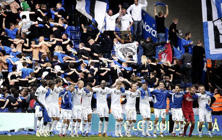 Go to a FC københavn soccer game