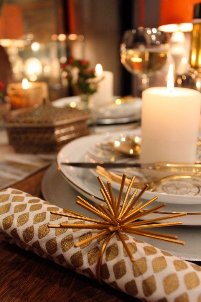 Our Spike Napkin Rings are a lovely addition to @Kishani Perera Perera Perera's table.