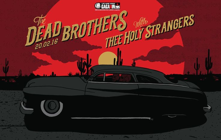 The Dead Brothers - (complete show) @Gagarin205, Athens 20/02/2016