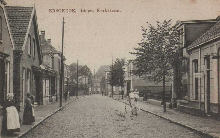 Lipperkerkstraat Enschede (jaartal: 1910 tot 1920) - Foto's SERC