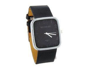 Tanboo 9650 WaMaGe Women's Simple Stylish Wrist Watch (Black) by Tan Watches. $8.99. Simple and stylish design.. Weight: 38g.. Battery included.. Stainless steel back.. Leather strap.. Simple and stylish design.Stainless steel back.Leather strap.Battery included.Weight: 38g.