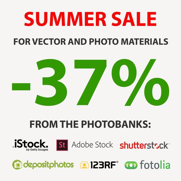 Reduceri de vară pentru materiale foto și vector! În perioada 19 iulie-31 august procurați cu reducere de pînă la -37% materialele foto și vector de pe următoarele fotostock-uri: www.shutterstock.com www.adobestock.com www.123rf.com www.depositphotos.com www.istockphoto.com
