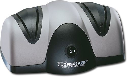 Presto - Pro EverSharp Electric Knife Sharpener - Black/Gray