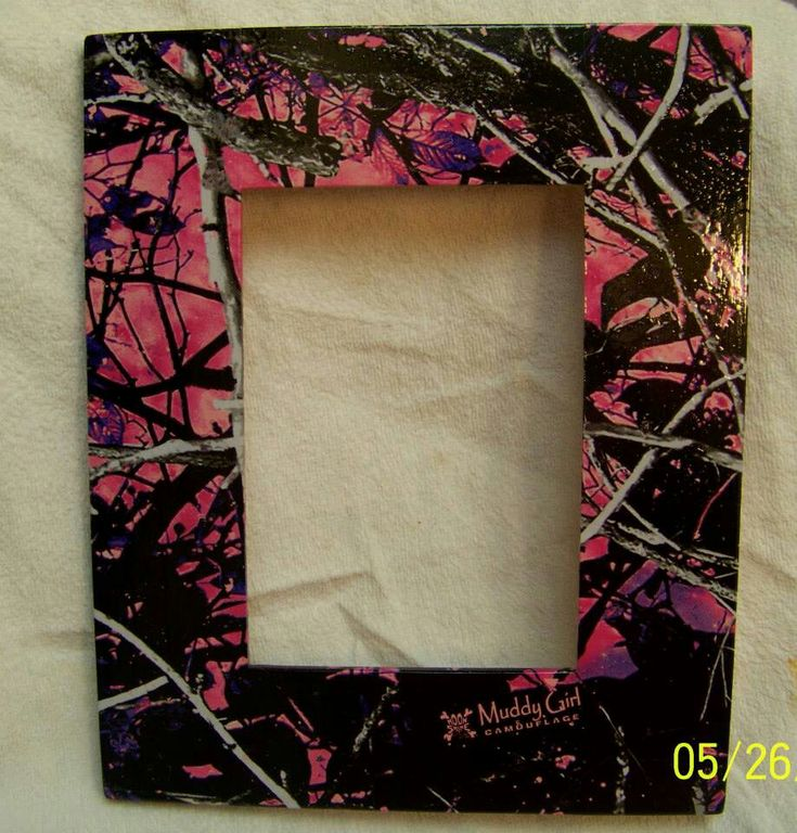 Picture frame dipped in Muddy Girl camo!! Our website will be up soon extremeliquidgraphics.com