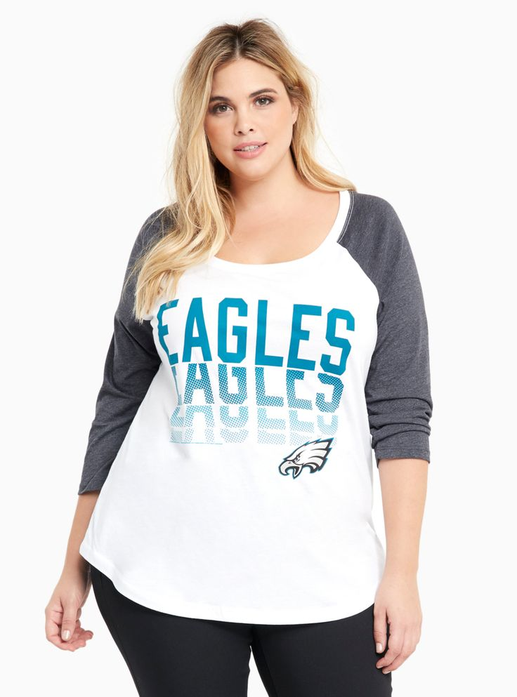 NFL Philadelphia Eagles Football Raglan Tee