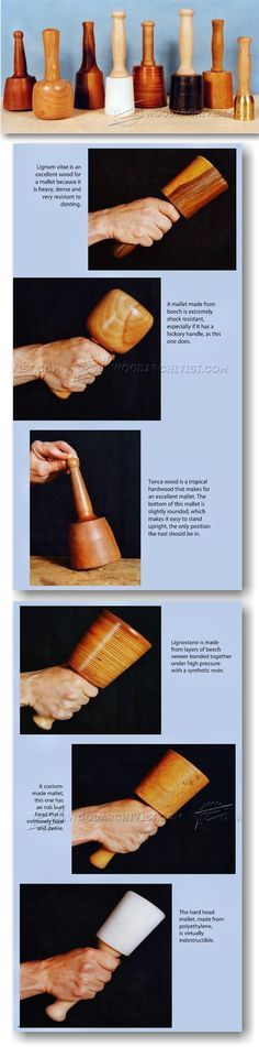 All About Wood Carving Mallet - Wood Carving Patterns and Techniques | WoodArchivist.com