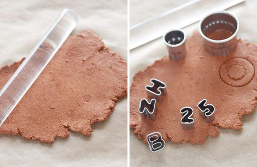 DIY Cinnamon Ornaments recipe- easy and makes the tree smell so good!