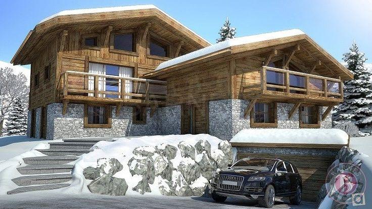 luxury Chalet 8 rooms in MEGEVE(74120) Haute Savoie