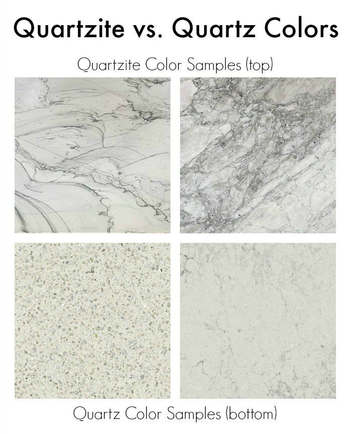 Quartzite Vs Quartz Countertop Comparison Great Reveiw Who Knew Difference Between These Two Materials Countertops