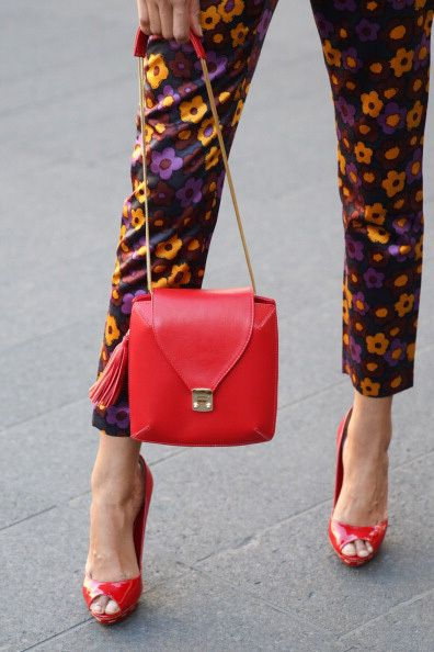 Street Style: New York Fashion Week Spring/Summer 2014 via #marieclaireaustralia: Spring Summer 2014, Fashion Weeks, Fashion Style, Fashion Street, Street Style Summer, New York Fashion, Streetstyle Ss2014, Bags