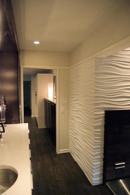 modern media room by Wrightworks, LLC