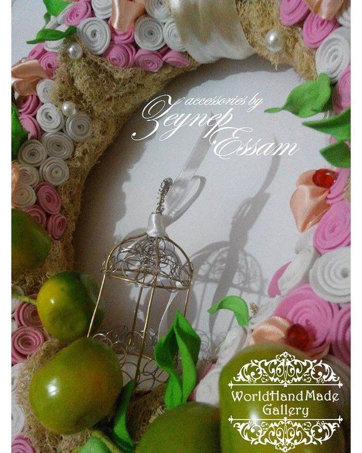 💐!!!SALE!!! SALE!!! SALE!!! 100% Hand-Made ⤵️ 🌍 http://world-handmade-gallery.com/ _______________________________ Египет. Александрия. Украшение на дверь.💐 Материалы: фом, бусины, люфа, ленты, декоративные элементы.  _______________________________ Egypt. Alexandria. Decoration at the door.💐 Materials: vom, beads, loofah, ribbons, decorative elements. ___________________________ 🌐 https://www.facebook.com/groups/world.hand.made.gallery…