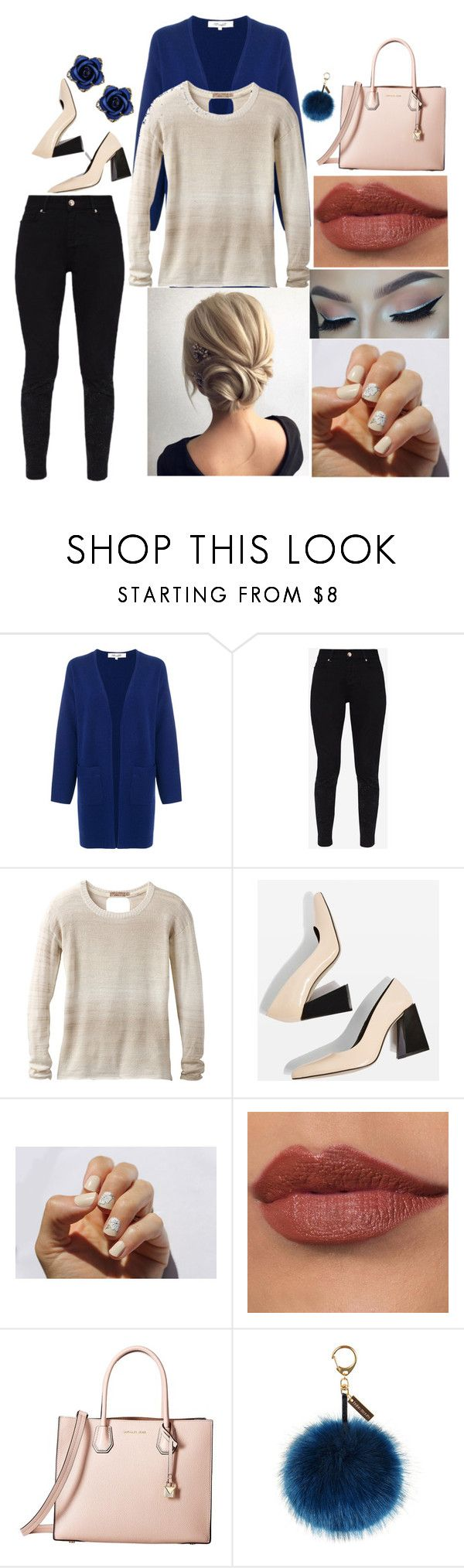 """""""Kathleen: February 27, 2018"""" by disneyfreaks39 ❤ liked on Polyvore featuring Diane Von Furstenberg, Ted Baker, prAna, Topshop, SoGloss, MICHAEL Michael Kors and Helen Moore"""