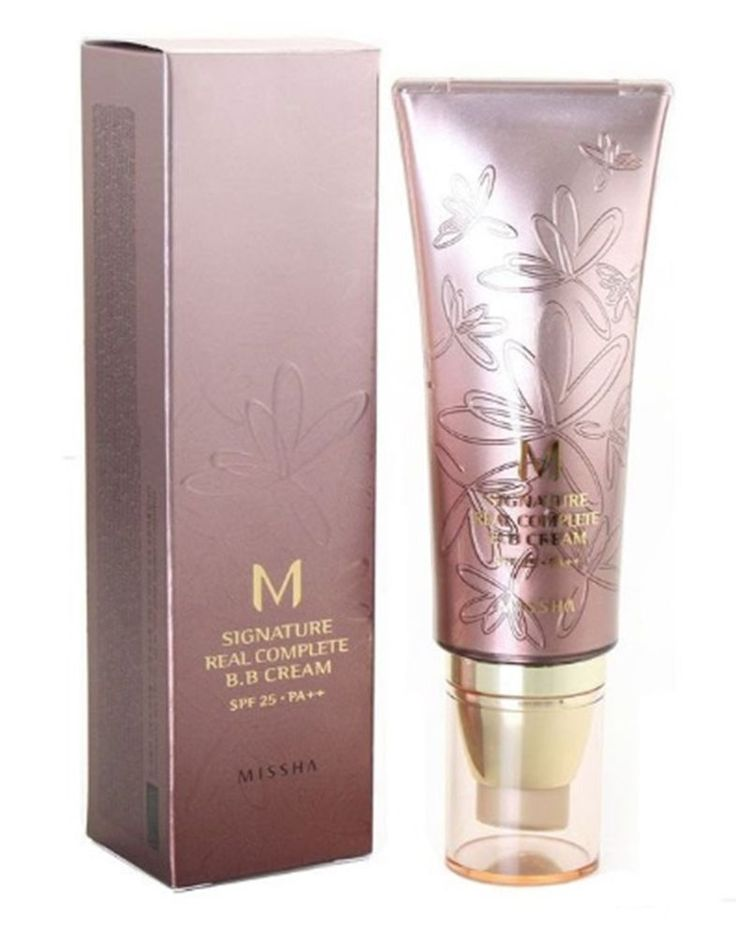 Missha M Signature REAL COMPLETE BB CREAM #23 SPF25 Natural Yellow Beige 45g Kor