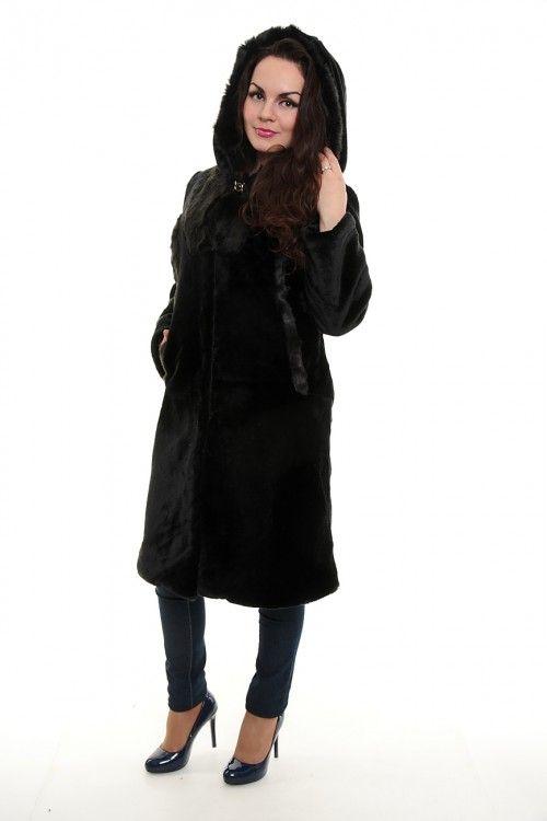 Шуба А1929 Размеры: 48,50,52,54 Цвет: черный Цена: 4200 руб.  http://optom24.ru/shuba-a1929/