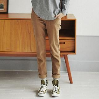 Buy 'GOROKE – Corduroy Baggy Pants' with Free International Shipping at YesStyle.com. Browse and shop for thousands of Asian fashion items from South Korea and more!