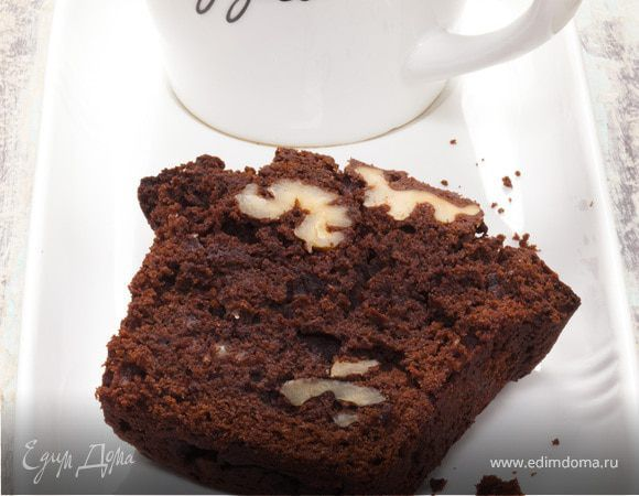 Шоколадные кексы с грецкими орехами. Ингредиенты: грецкие орехи, шоколад черный горький, сливочное масло