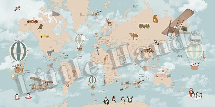 Adventures World Map