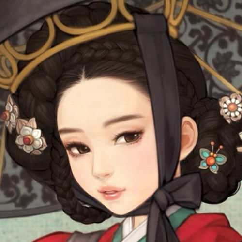 ❤٩(๑•◡-๑)۶❤.                                                   South Korean illustrator Obsidian (also known as Huk-yo-suk)