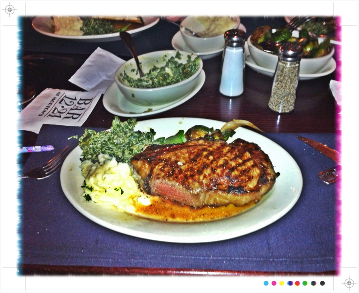 Mortons Steak House Chicago Ribeye - possibly the best steak I've ever had