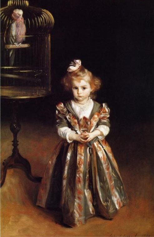Beatrice Goelet, John Singer Sargent, 1890. Incredibly beautiful painting, love Sargent