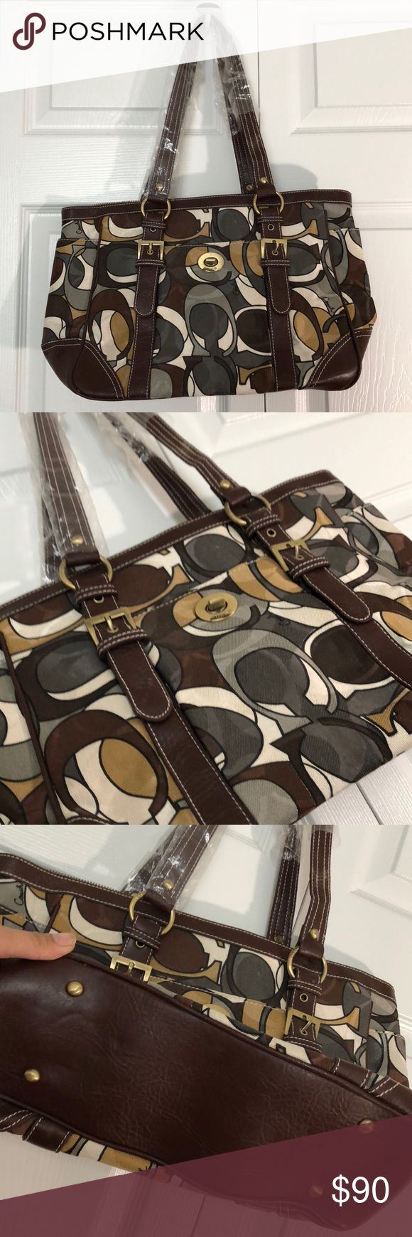 New COACH handbag New coach handbag. Leather and never used Coach Bags Shoulder Bags
