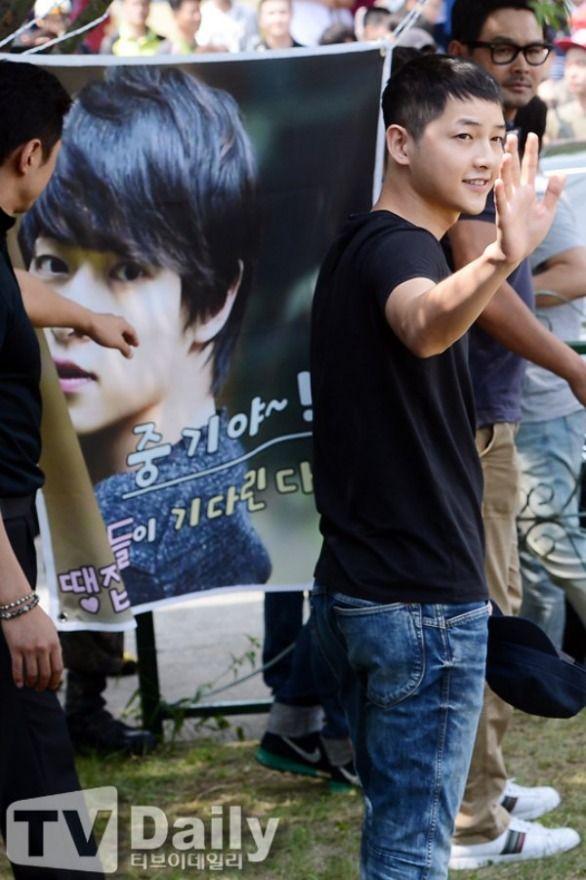 Song Joong Ki's enlistment *17