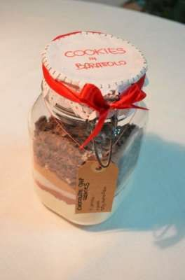 Ricette in barattolo: i cookies