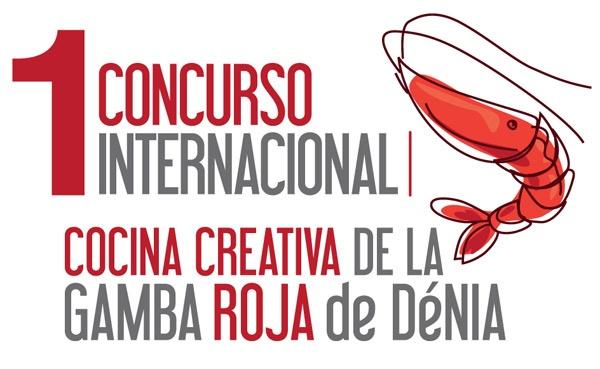 Cartel del 1 concurso internacional gamba roja de Denia