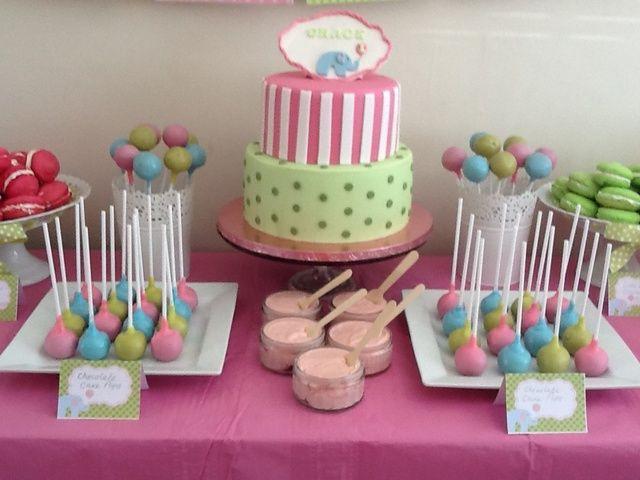 Pastel dessert table #pastel #desserttable