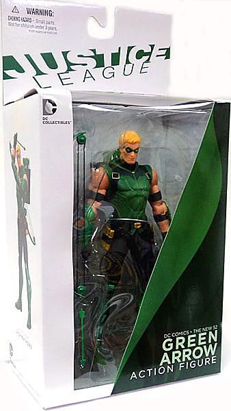 Green Arrow Action Figure The New 52 DC Justice League DC Collectibles