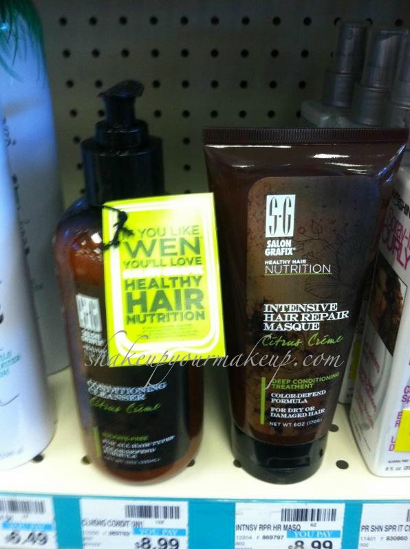 Shakeup Your Makeup...: Spotted at CVS: New from Salon Grafix: Cleansing Conditioner - a Wen dupe?