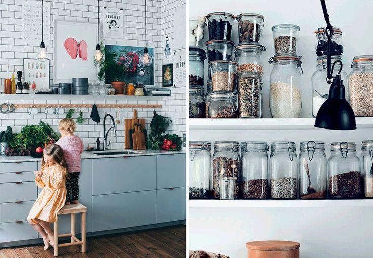 Køkkenopbevaring | Praktisk og dekorativ opbevaring i køkkenet | Boligmagasinet.dk