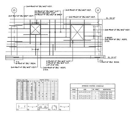 54 best technical drawing images on pinterest for How to read foundation blueprints