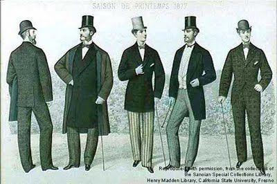 Los dandy reivindicaban el buen gusto y la elegancia, la vida de ocio y libertina. Sus prendas no eran particularmente extravagantes, eran sobrias pero por sobre todo refinadas, de calce perfecto y atenta a cada detalle de conjunto.
